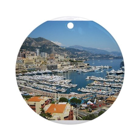 Monte Carlo, France Ornament (Round)