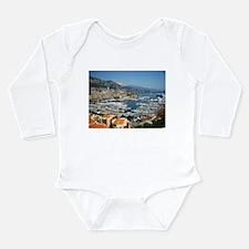 Monte Carlo, France Long Sleeve Infant Bodysuit