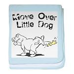 Move Over Little Dog baby blanket