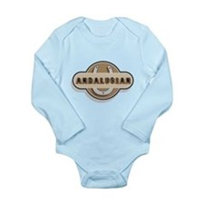 Andalusian Horse Long Sleeve Infant Bodysuit