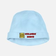 Icelandic Horse Gifts baby hat