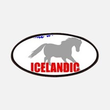 Ride With Pride Icelandic Hor Patches