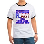 Offended By America Ringer T