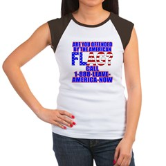 Offended By America Women's Cap Sleeve T-Shirt