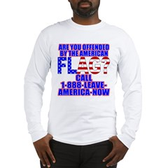 Offended By America Long Sleeve T-Shirt