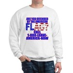 Offended By America Sweatshirt