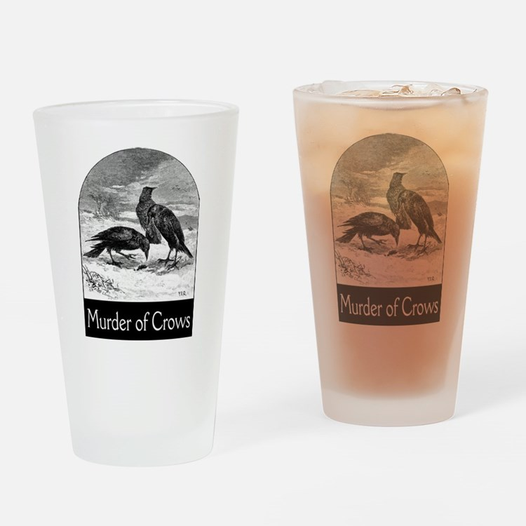 Murder of Crows Pint Glass