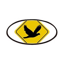 Dove Crossing Sign Patches