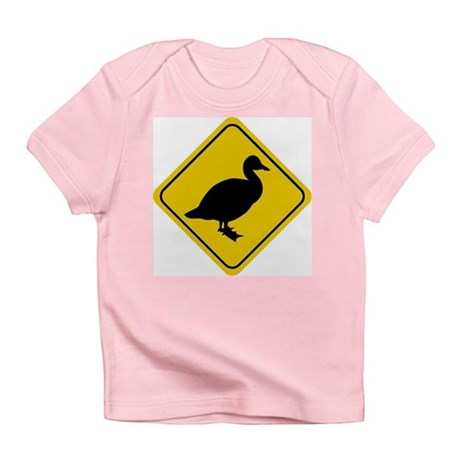 Duck Crossing Sign Infant T-Shirt