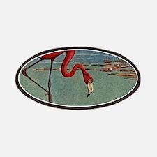 Flamingo Art Patches