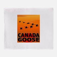 Canada Goose Throw Blanket