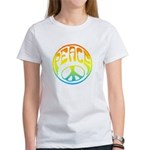 Peace - rainbow Women's T-Shirt