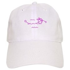 Swimming Girl Pink No Words Hat