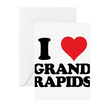 I love Grand Rapids Greeting Cards (Pk of 20)