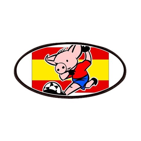 Spain Soccer Pigs Patches