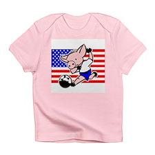 USA Soccer Pigs Infant T-Shirt