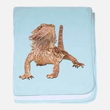 Bearded Dragon Photo baby blanket