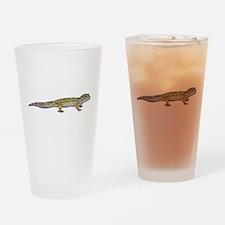 Leopard Gecko Drinking Glass