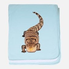 Blue Tongue Skink baby blanket