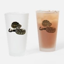 Rattlesnake Photo Pint Glass