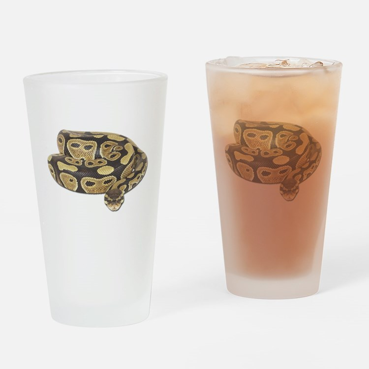 Ball Python Photo Pint Glass