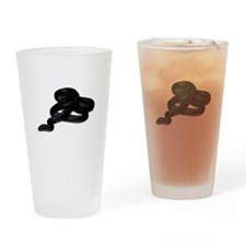 King Snake Pint Glass
