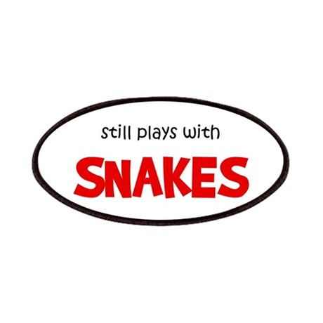 Still Plays With Snakes Patches