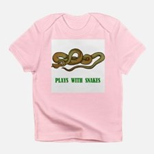 Plays With Snakes Infant T-Shirt