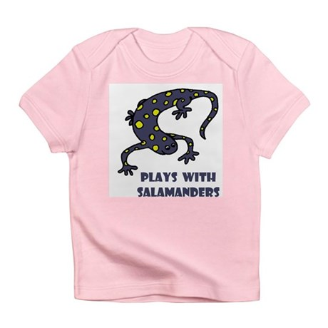 Plays With Salamanders Infant T-Shirt