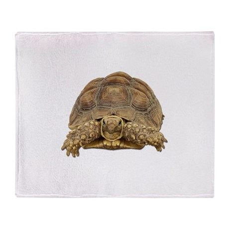 Tortoise Photo Throw Blanket