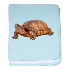 Box Turtle baby blanket