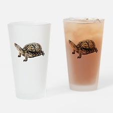 Ornate Box Turtle Pint Glass