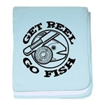 Get Reel Go Fish baby blanket
