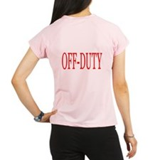 Off-Duty (Red) Women's double dry short sleeve mes