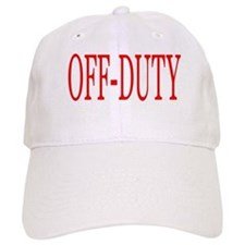 Off-Duty (Red) Baseball Cap
