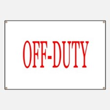 Off-Duty (Red) Banner