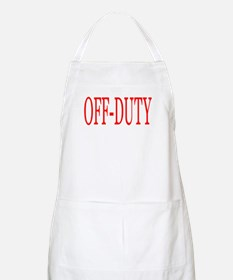 Off-Duty (Red) Apron