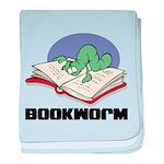 Bookworm Book Lovers baby blanket