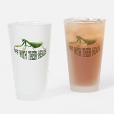Praying Mantis Pint Glass