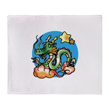 Dragon Cartoon Throw Blanket