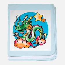 Dragon Cartoon baby blanket