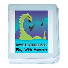 Cryptozoologists baby blanket