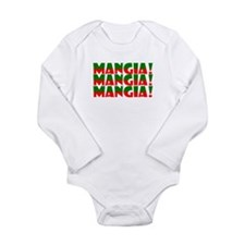 Mangia Long Sleeve Infant Bodysuit