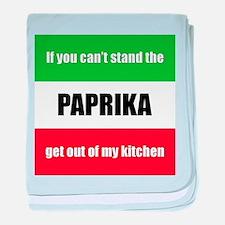 Paprika Lover baby blanket