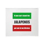 Jalapeno Lover Throw Blanket