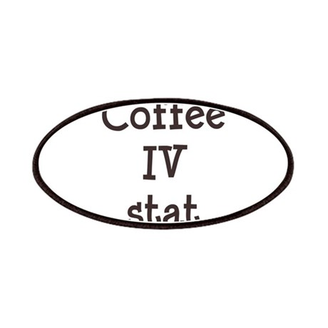 Coffee IV Stat Patches