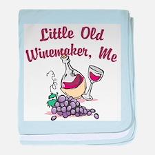 Little Old Winemaker baby blanket