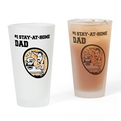 #1 Stay-At-Home Dad Pint Glass