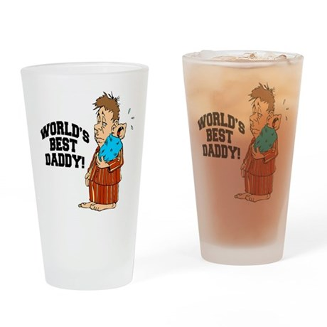 World's Best Daddy Pint Glass