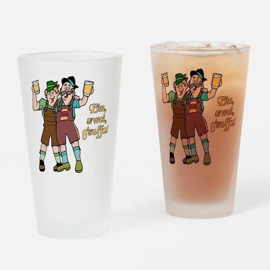 Drink Up Oktoberfest Pint Glass